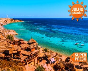 Super Preço! Sharm El Sheikh | Voos + 7 Noites em 5* em Tudo Incluído
