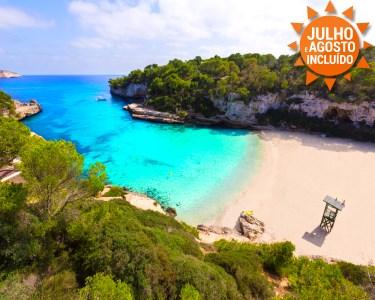 Ilhas Baleares | Maiorca | Voos + 7 Noites em M. Pensão ou T. Incluído