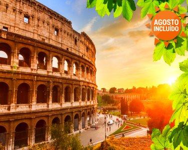 A Cidade de César Augusto | Roma | 2 Noites + City tour