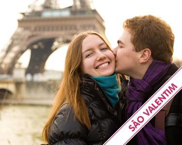 São Valentim em Paris - 2 noites