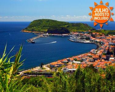 Fly & Drive | Ilha do Faial | Açores | Voos + 2 Noites + Rent-a-Car