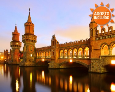 Berlim | 2 ou 4 Noites + Voos + City Sightseeing