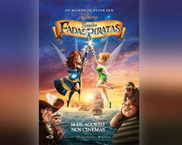 «Sininho: Fadas e Piratas» no Cinema City | Bilhete & Pipocas