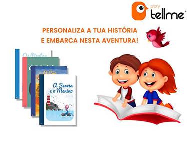 Livro de Histórias Personalizado   Story Tell Me