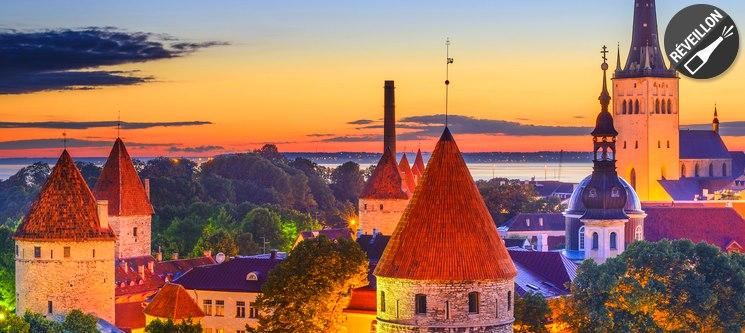 Reveillon em Tallinn - Estónia | Voos + 3 Noites + Jantar de Reveillon