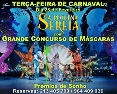Carnaval no Palco do Politeama | Musical «A Pequena Sereia» de Filipe La Féria