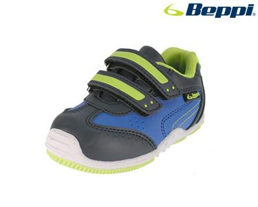Ténis Casual Beppi® | Azul Marinho e Verde