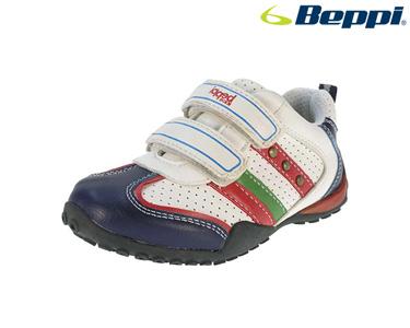 Ténis Casual Beppi® | Branco e Vermelho