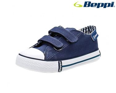 Ténis Lona Beppi® | Azul Marinho e Branco