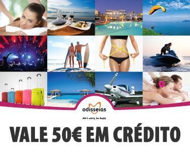 Voucher de Crédito Odisseias - 50€