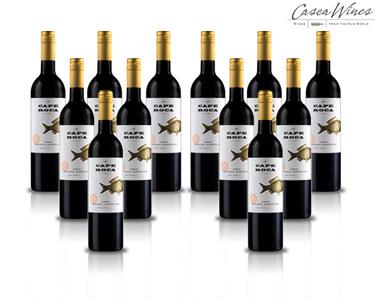 Pack 12 Garrafas Premium Cabo Roca Tinto Alentejano