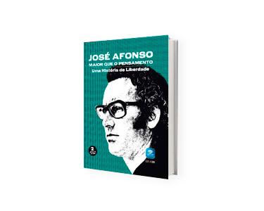 Livro e DVD «Maior que o Pensamento Uma História de Liberdade», de José Afonso - Vol 2