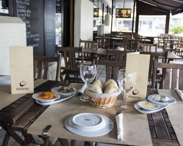 Caracóis à discrição + pão + 2  imperiais   Astúrias Café Miraflores
