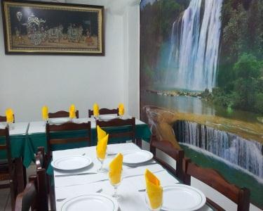 Petiscos a dois no Sabores de Goa Restaurante