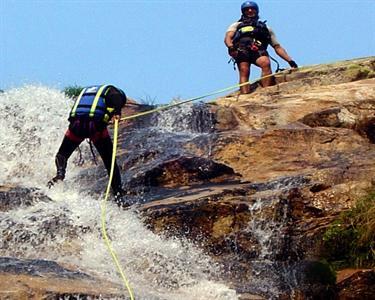 Canyoning no Rio Arda
