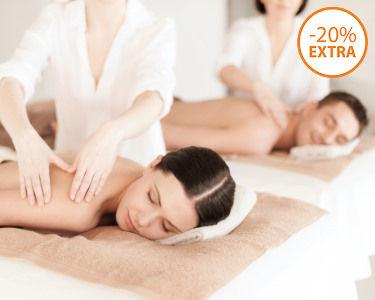 Presente: Massagem de Relaxamento para Dois + Ritual Chá | Laranjeiras