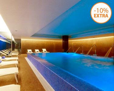 BLU SPA Hotel Jupiter | Circuito de Águas + Mini Facial ou Massagem Pedras | 1 ou 2 Pessoas