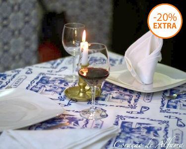 Jantar & Fado ao Vivo para Dois | Coração de Alfama