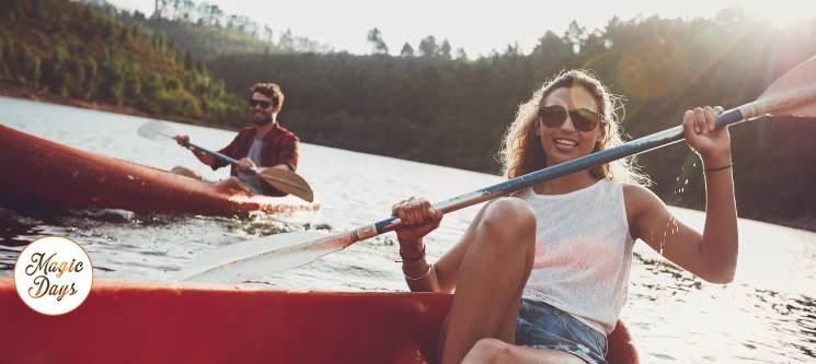 Maravilhoso Passeio em Canoa a Dois   2 Horas pelo Litoral Alentejano