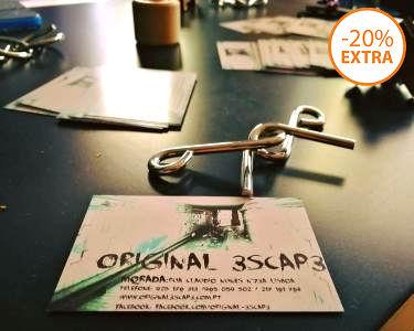 Novidade! Original 3scap3 - Escape Game até 6 Pessoas   Lisboa