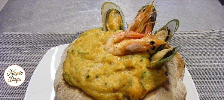 Açorda de Marisco a Dois no Portofino - Sesimbra | Cozinha de Excelência com Vista Mar!