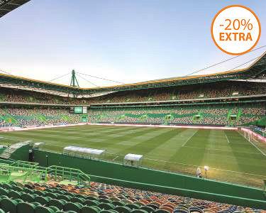 100% SCP! Visita ao Estádio José Alvalade + Museu Sporting + Oferta Cachecol