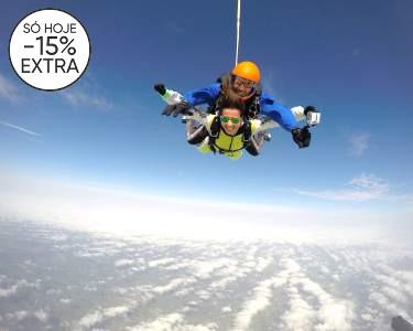 Salto Tandem em Évora a 3000m de Altitude | Dê Aventura à sua Vida!