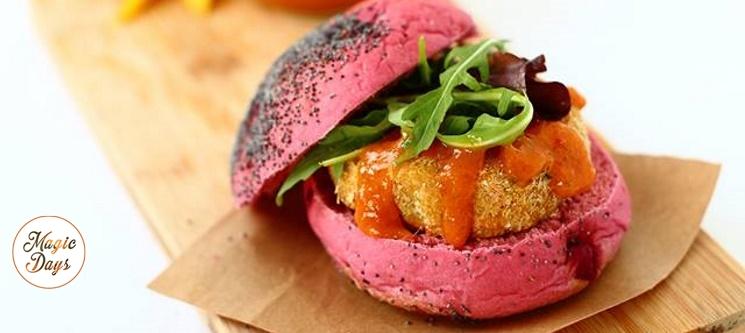 Vegana Burgers | Hambúrgueres Saudáveis + Bebida em 3 Restaurantes Sem Reserva!