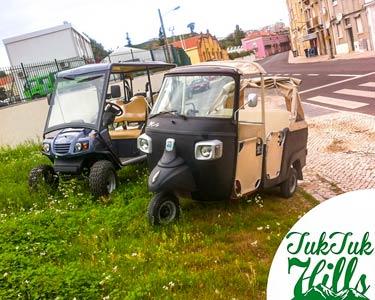 Passeio Ecológico pela Maravilhosa Lisboa - Até 5 Pessoas | 1 Hora