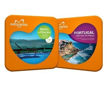 2 Presentes: Hotéis de Charme e Portugal a Metade do Preço