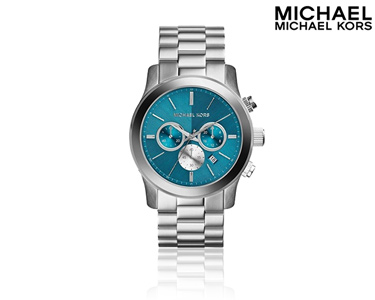 Relógio Mickael Kors® | Runway Prateado
