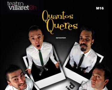 Comédia Improlaroid-Teatro Villaret
