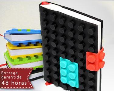 Notebook - Capa Peças de Lego