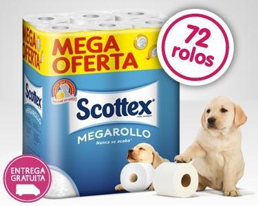 72 ou 144 Megarolos Scottex
