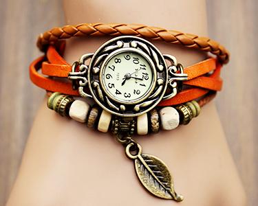 Relógio Vintage | Flower Style