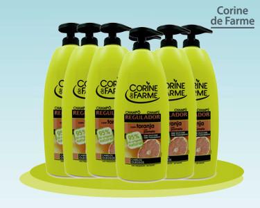 Cabaz 6 Champôs para Cabelos Oleosos   Corine de Farme®