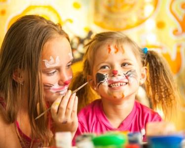 Festa de Aniversário c/ Pinturas Faciais e Balões | Até 30 Crianças