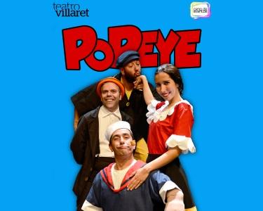 «Popeye - O Marinheiro» | Teatro Infantil - Villaret