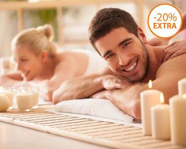 Love Moment: Massagem de Relaxamento a Dois | 40 Min. | Belas