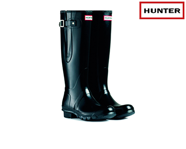 Galochas Hunter® | Original Adjustable Preto