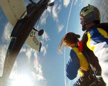 Pelos Céus do Norte de Portugal! Salto Tandem a 3000m de Altitude!
