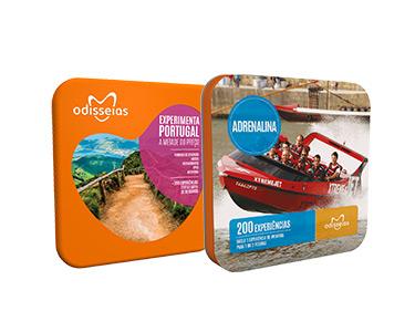 2 Presentes: Adrenalina e Experimenta Portugal