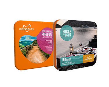2 Presentes: Fugas com Jantar e Experimenta Portugal