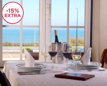 Marisco à Discrição para Dois na Ericeira | Restaurante Dom Carlos c/ Vista Mar