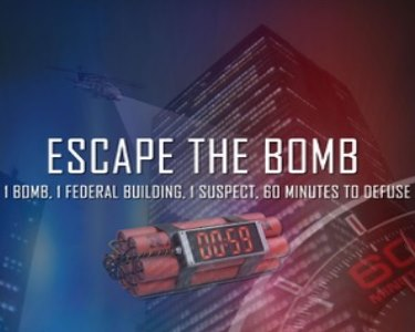 Escape Game The Bomb | 2 a 5 Pessoas | Escape 2 Win