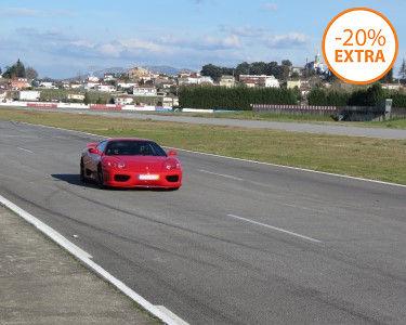 Condução de Ferrari 360 Modena F1 | 1 a 6 Voltas ao Volante - Circuito de Braga