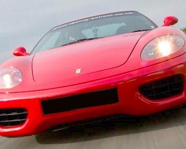 Ao Volante de um Ferrari 360 Modena F1 | 1 a 6 Voltas no Circuito de Braga