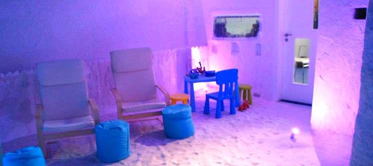 Sessão de Haloterapia p/ 1 ou 2 Pessoas | Gruta de Sal no Centro de Lisboa