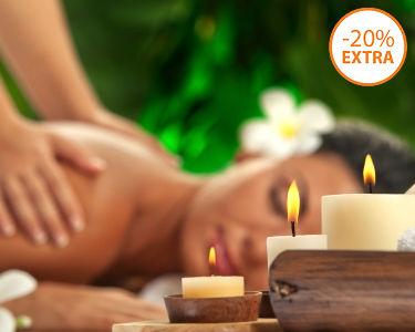 3 Massagens: Oriental, Aromas & Pedras Quentes | 1h | Pinhal Novo
