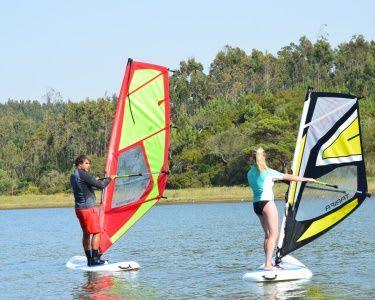 Baptismo de Windsurf   1 Pessoa   Lagoa de Óbidos